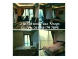 Dijual/Disewakan Apartemen Tamansari Semanggi - Type 2KT 12-10Jt, 1KT 8,5Jt Nego / Dijual Studio Murah Sekali Full Furnished