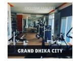 Disewakan Apartemen Grand Dhika City Bekasi - Studio Full Furnished - Tower Cempaka Lt. 26