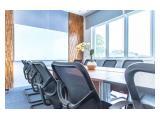 Get 50% OFF - Sewa Ruang Kantor (Serviced Office) Mulai Rp 2,95 Juta/Bulan per Ruangan Full Furnished, Alamat Domisili dan PKP, DEKAT Slipi-Senayan