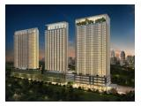 Dijual Apartment Luxury Menteng Park Jakarta Pusat - 2BR 61 m2 Fully Furnished