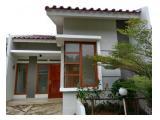 Rumah Disewakan Di Limo, 1Lt, Siap Huni, Unit Pojok dlm Private Cluster di Meruyung