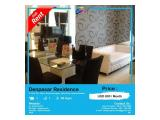 Hot Unit Sewa!! Apartemen Kuningan City - 1 BR, Size 48 M2, Good Furnish & Siap Huni by ASIK PROPERTY