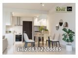 Disewakan Apartemen 1Park Avenue Gandaria, Jakarta Selatan - 2 / 2+1 / 3 BR (All Type Available) Full Furnished