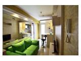 Dijual Murah Apartemen Bassura City - Tower Geranium 1 Bedrooms Full Furnished Interior Cakep Siap Huni, Cocok untuk Investasi, BU