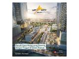Jual Apartemen LRT City Green Avenue Bekasi - Bayar Booking Fee 8juta Langsung AKAD, Subsidi DP, Subsidi Bunga, Free Biaya AKAD, Cicilan Super Ringan