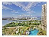 Dijual Apartemen Gold Coast PIK (Pantai Indah Kapuk) Jakarta Utara - Tipe Studio, 1/2/3 Bedrooms Semi-Furnished / Fully Furnished