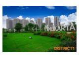 Jual Apartemen Meikarta Cikarang Selatan Bekasi - Tipe Studio 24 m2 Semi-Furnished / Unfurnished