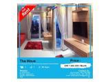 Disewakan Apartemen The Wave Tower Sand - 1 BR, Furnished Bagus, Siap Huni, Harga Bersahabat by ASIK PROPERTY