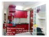 Sewa Apartemen Kebagusan City Best View 2 BR 55 m2 - Promo Oktober 2020