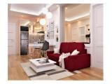 Sewa Apartemen Mewah Podomoro Golf View Bogor - Full Furnished 3 BR (Hook) 52 m2
