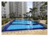 Disewakan Apartemen Bassura City - 2 Bedrooms Unfurnished 34 Sqm Dipasang 2 AC Stock All Tower