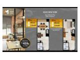 Jual Termurah & Terbaik Apartemen SOHO Meikarta Bekasi - 2 Bedrooms Semi Furnished