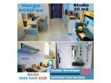Jual Apartemen Skyhouse BSD+ Semi Furnished (Lokasi Sebelah AEON Mall, Serah Terima Juli 2021, Free Emas) DP 5% Cicilan 120x, Harga Start 400 Juta