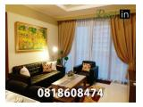 Disewakan Apartemen District 8 SCBD Senayan Jakarta Selatan 1 / 2 / 3 / 4 BR - Ready to Move-In All Types Available Furnished
