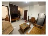 Sewa Apartemen Gading Mediterania Residence Jakarta Utara - Full Furnished 2 Bedrooms 43 m2, Bali Style Newly Renovated