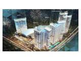 Dijual Apartemen TransPark Cibubur (Depok-Jakarta-Bekasi) - 2 BR Corner Unfurnished 48,45 m2