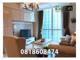 Disewakan Apartemen Residence 8 Senopati (SCBD) Jakarta Selatan - Available All Type 1, 2, 3 BR Full Furnished City-Pool View