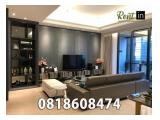 Disewakan District 8 Apartment  SCBD Senayan Jakarta Selatan - All Types Available 1 / 2 / 3 / 4 BR Furnished Ready To Move In!