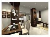 Disewakan / Dijual Apartemen Sahid Sudirman Residences Tanah Abang Jakarta Pusat - 1 / 2 / 3 Bedrooms Fully Furnished