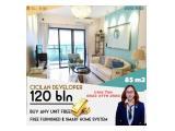 Dijual Apartemen Skyhouse BSD Tangerang DP 5% Cicilan 120x, Start 400jtan (Sebelah AEON Mall, Serah Terima 2021, Free Emas dan Furnitur)
