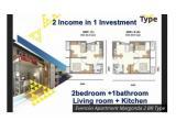 Dijual Apartemen Evencio Margonda Depok - Type Studio Full Furnished Harga Termurah!