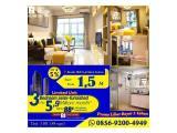 Dijual Apartement Sky House Alam Sutera Tangerang (Samping IKEA, dekat Binus, UBM, SGU, OMNI Living World) Studio Acacia Tower