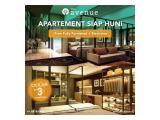 Dijual Cepat Apartemen The Avenue ParkLan di Kota BSD Tangerang Selatan - Tanpa DP Bisa Lewat Bank Siap Huni Studio, 1BR, 2BR Furnished & Unfurnish