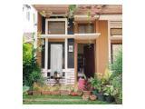 Dijual Rumah Posisi Hook di Dalam Cluster Raden Sanim Depok 2+1 Kamar Tidur SHM - One Gate System dengan CCTV & Security 24 Jam