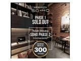 Jual Apartemen Termurah di Meikarta Cikarang Bekasi Type Studio  21.85 m2 Semi Furnished
