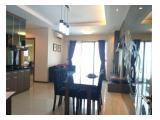 Dijual Apartemen Thamrin Residence Tanah Abang Jakarta Pusat - 3+1 BR Furnished Hadap Timur Utara