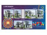 New South West City Citraland Driyorejo, Gresik. Rumah Type Dannete