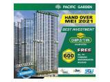 Dijual Apartemen Pacific Garden Tangerang - Type Studio, Cara Bayar Terbaik Disini 60x Tanpa DP Cicilan 5 Juta/Bulan Hingga Serah Terima Mei 2021