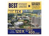 Jual Apartemen Sky House BSD Premium Beside Aeon Mall, Unilever, ICE, Digital HUB, Near Uiversity Start 400 Million Studio - 2,9 Billion 3+1 BR