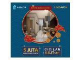 Apartemen Dijual di Vittoria Residence, Daan Mogot, Jakarta Barat - 2 Kamar Tidur Bersih, Nyaman, Elegan & Strategis
