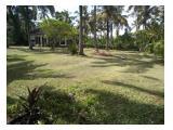 Jual Villa, luas tanah 1500 m2 / 15 are (dekat Balian Beach tmpt Surfing)