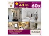 Dijual Apartemen Sky House (Samping AEON Mall + Seberang The Breeze + Seberang ICE BSD) - 2 Kamar Tidur Semi Furnished DP 5%