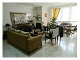 Rent Apartment Permata Hijau, Jakarta Selatan - Classic Building, Large Unit, Furnished!