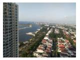 Jual Cepat Apartemen Ancol Mansion Jakarta Utara - 1 KT Full Furnished, Lantai Tinggi, Pemandangan Laut, Kota & Kolam Renang