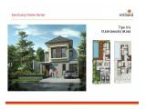 Rumah ready dg kolam renang Klaster Morning Glory unit A 150 di Graha Natura , Surabaya by Intiland