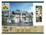 Rumah baru di kawasan strategis, Taman Pondok Legi, Pepelegi, Waru, Si