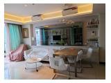 Dijual Cepat Apartemen St. Moritz New Royal Tower Jakarta Barat - 3 Kamar Tidur Furnished