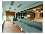 Sewa dan Jual Murah Office Space 376 m2 di APL Tower, Central Park Jakarta Barat - Semi Furnished
