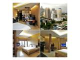 Dijual / Disewakan Studio Fully Furnished Apartemen Taman Sari Semanggi Dijual - Jakarta Selatan