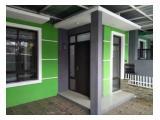 Casa minimalista con un concepto de puerta lista para habitar