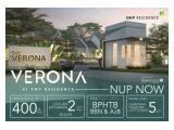 Rumah Rp 400 jutaan banyak pilihannya, tapi yang punya akses langsung ke pusat kota Surabaya cuman satu ini saja ! Verona di SWP Residence, Menganti,