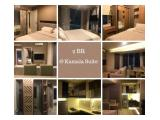 Sewa Apartemen Wah Harga Hemat di Grand Kamala Lagoon Bekasi - Harian dan Bulanan, Studio / 2 BR Fully Furnished di Bekasi