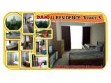 Dijual Apartemen U-Residence Tower 3 Lippo Karawaci, Tangerang