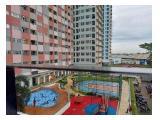 Dijual Cepat BU Apartemen Sentra Timur Residence (Pemilik Langsung) 1BR Fully Furnished, Unit Terawat, Gratis Desinfektan Ruangan