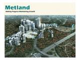 Dijual Rumah Cluster Puri Metland Oxalis Tangerang - 3 Kamar Tidur Unfurnish
